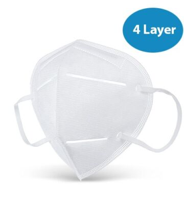10 X 4 Layer Foldable Face Masks – KN95