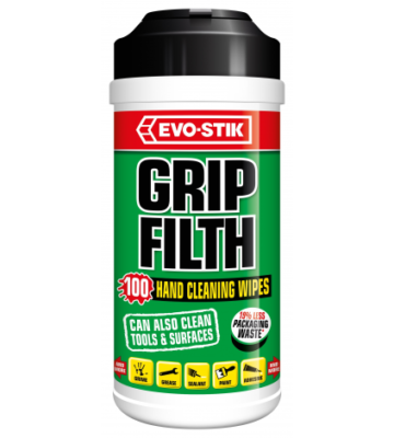 Evo-Stik Grip Filth Wipes
