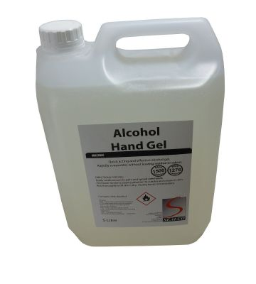 70% Alcohol Hand Gel 5 Ltr