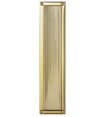Carlisle Brass M1002 Queen Anne – Finger Plate 305mm X 70mm