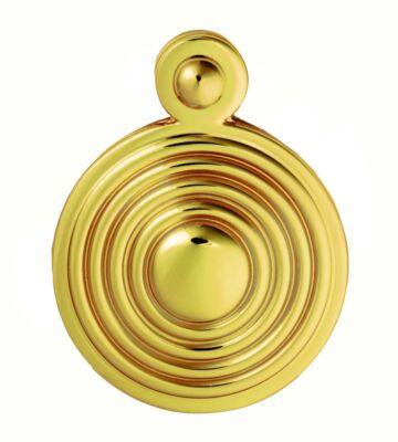 Carlisle Brass M1000 Escutcheon – Lock Profile Queen Anne Round Cover Face Fix 32mm
