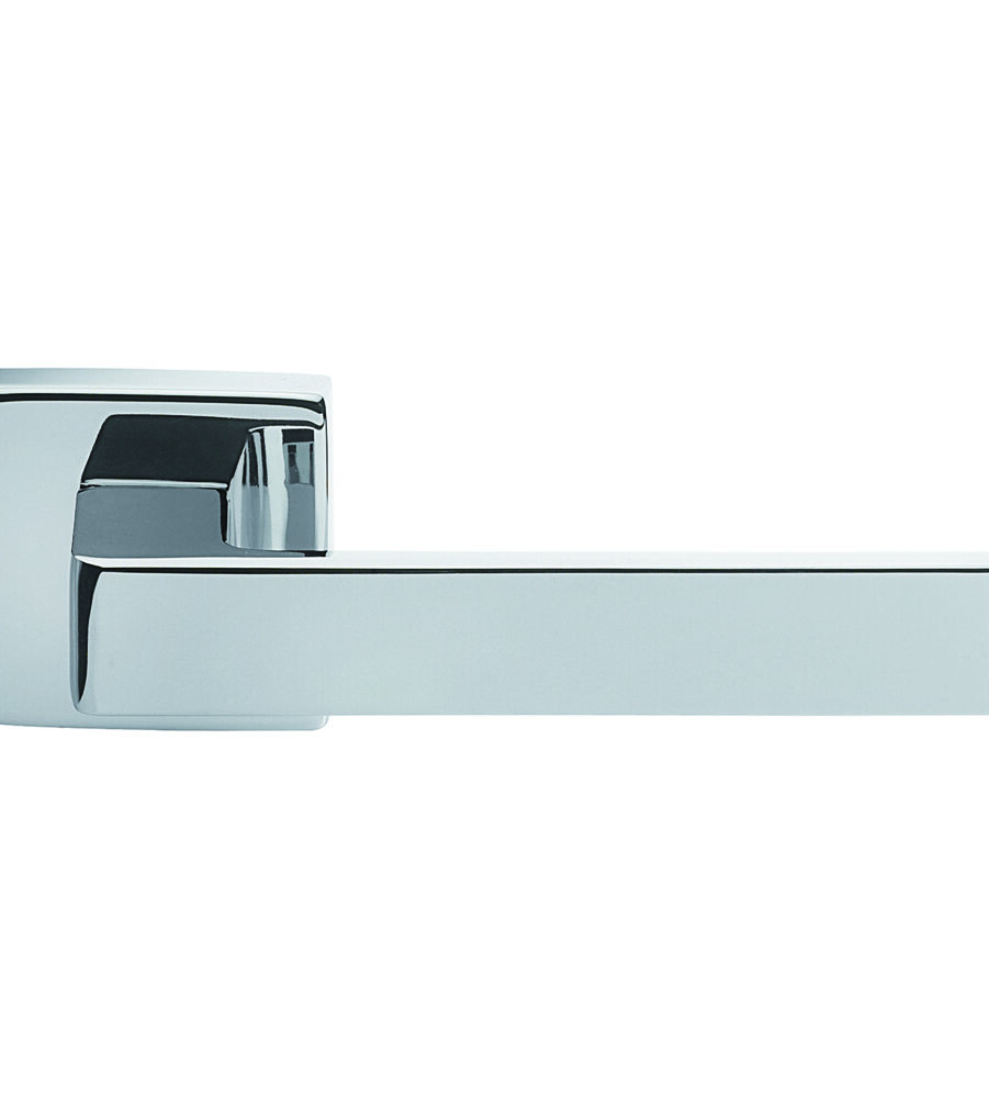 CARLISLE BRASS TC5CP TECHNA LEVER ON CONCEALED FIX SQUARE ROSE CRO (POLISHED CHROME) - PAIR