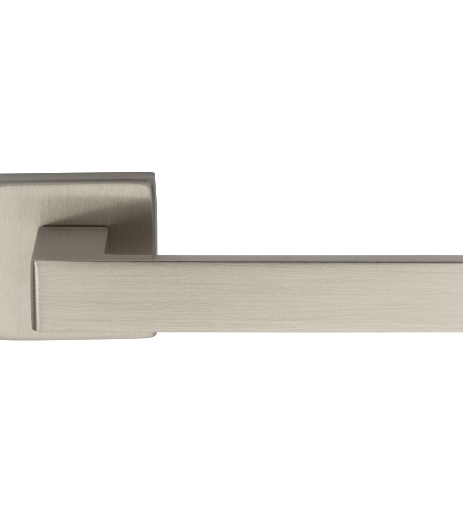 CARLISLE BRASS TC5SN TECHNA LEVER ON CONCEALED FIX SQUARE ROSE NIS (SATIN NICKEL) - PAIR