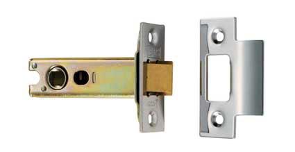 CARLISLE BRASS TLS5030EB/SSS EASI - T HEAVY SPRUNG TUBULAR LATCH 76MM