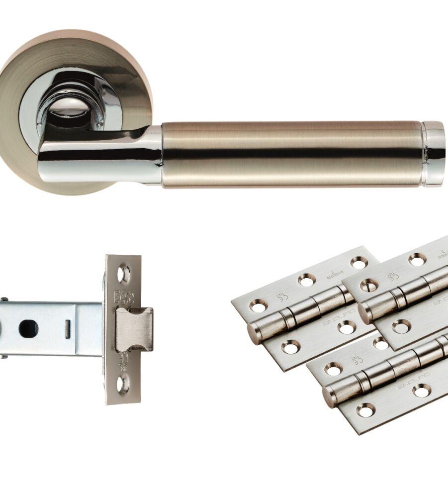 CARLISLE BRASS UDP006SNCP/INTB BELAS LATCH PACK - ULTIMATE DOOR PACK - PACK