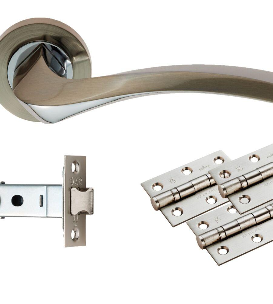 CARLISLE BRASS UDP008SNCP/INTB SINES LATCH PACK - ULTIMATE DOOR PACK - PACK