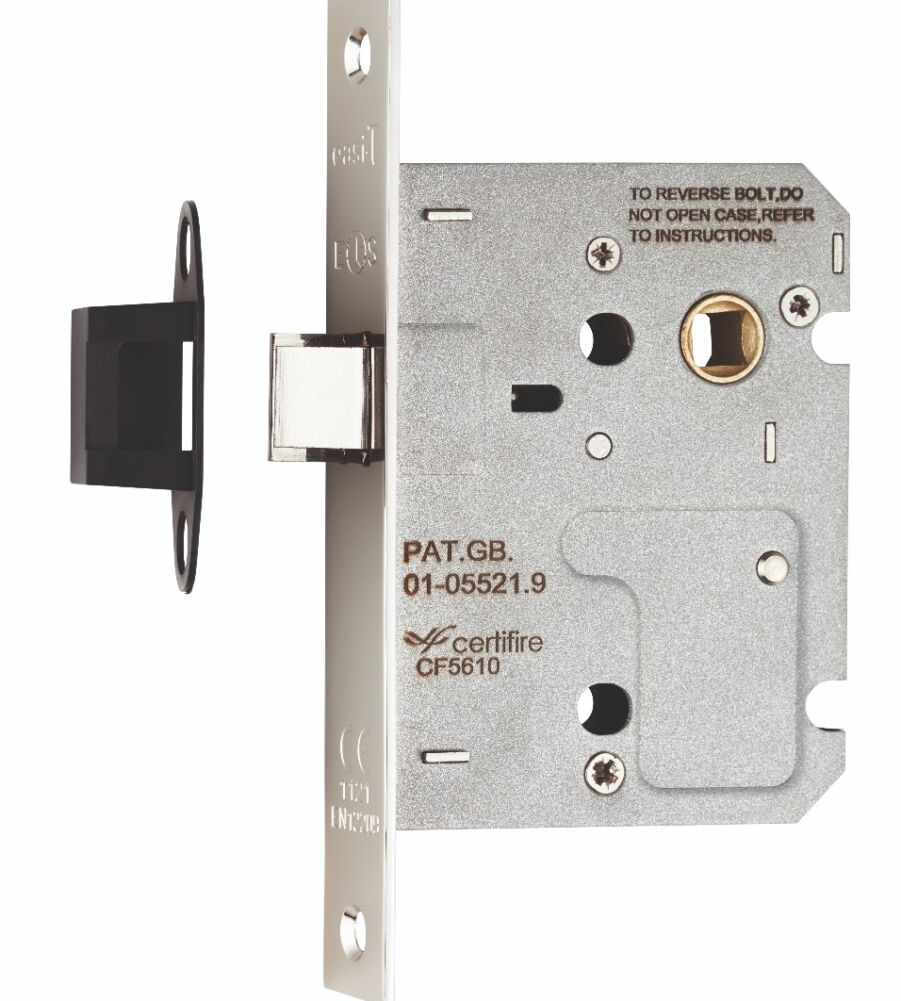 CARLISLE BRASS ULE5030NP EASI-T UPRIGHT LATCH 76MM RESIDENTIAL