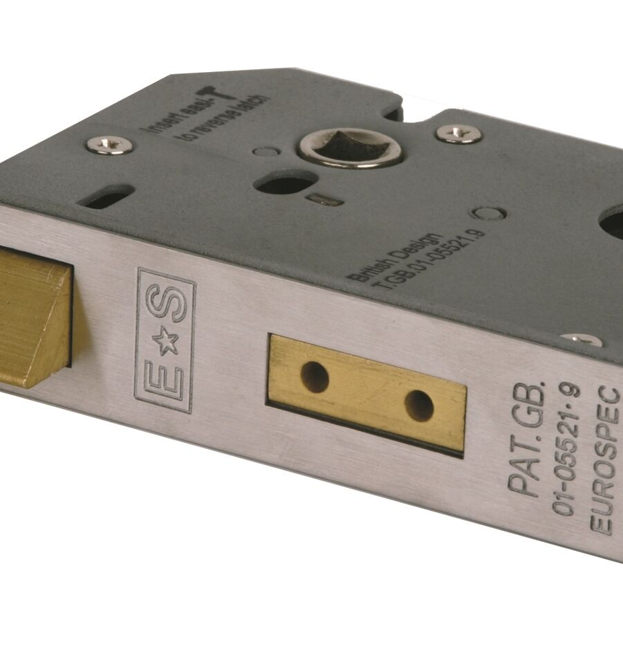 CARLISLE BRASS URES5030SSS UNIVERSAL REPLACEMENT 3 EURO PROFILE SASHLOCK (SECURITY)
