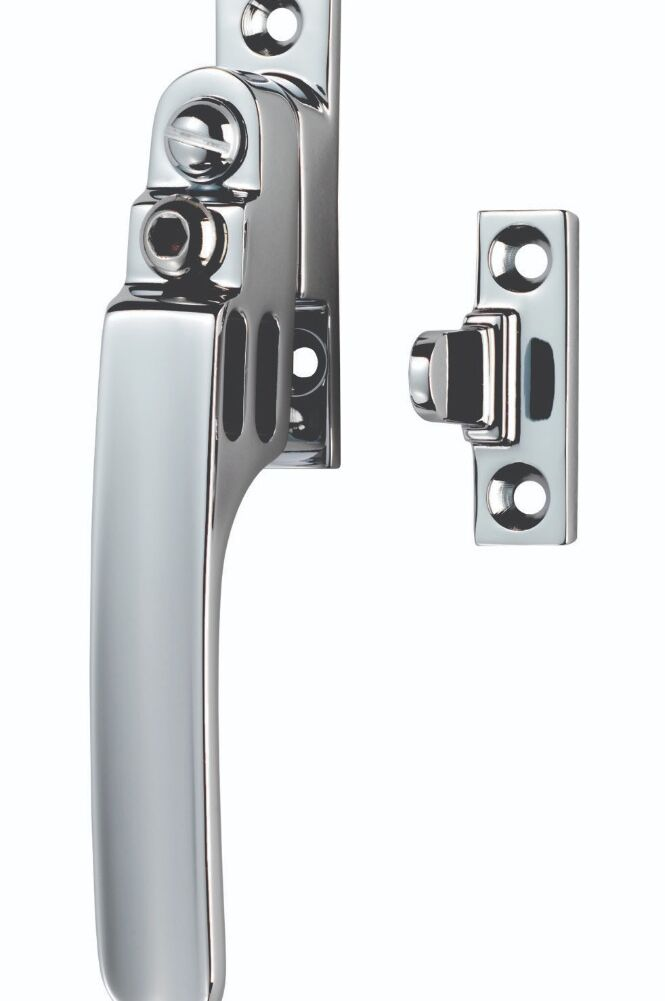 CARLISLE BRASS V1007LCKCP VICTORIAN - LOCKING NIGHT VENT 16MM X 60MM