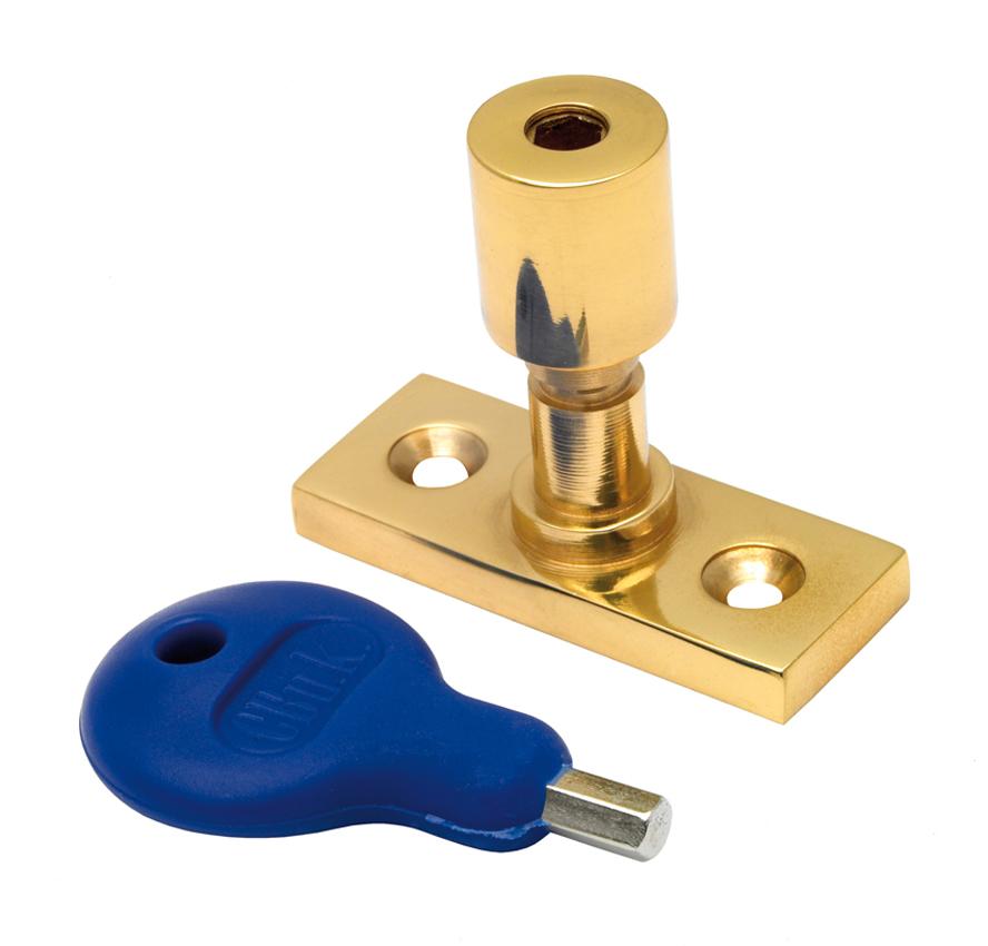 CARLISLE BRASS WF17 LOCKING CASEMENT STAY PIN 40 X 15MM