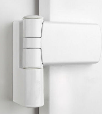Trojan 0785-2001-WH White 16mm Patriot Plus Door Hinge